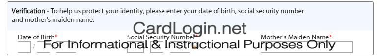 Walmart Credit Card Verification