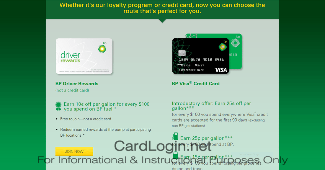 BP Visa Credit Card - How to Apply