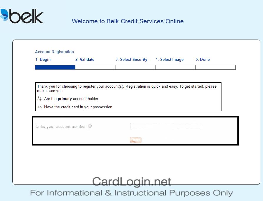 Belk Credit Card - Register and Activate Credit Card