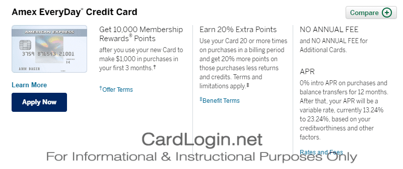 American Express - Apply for a Credit Card