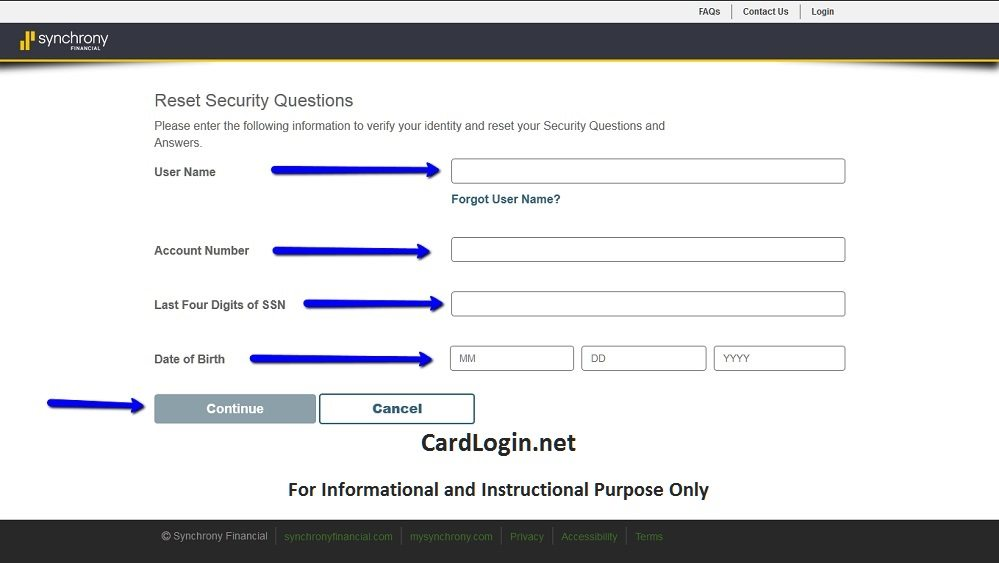 Ashley_Advantage_Reset_Security_Question_Menu