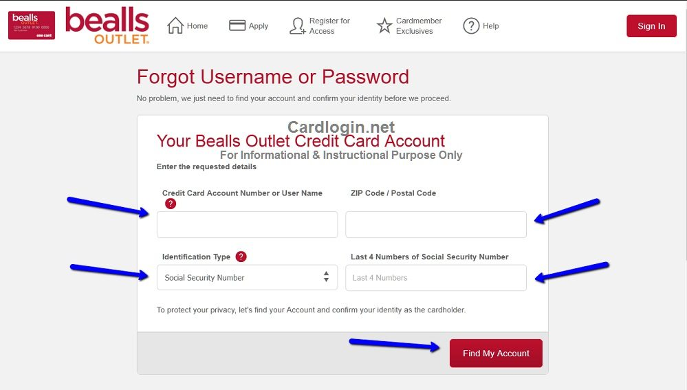 Forgot_your_Bealls_Outlet_Credit_Card_User_ID_or_Password