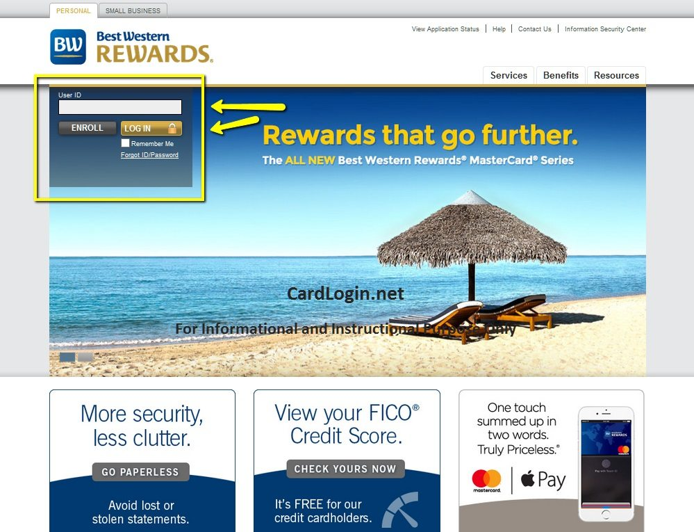Best_Western_Rewards_MasterCard_Login