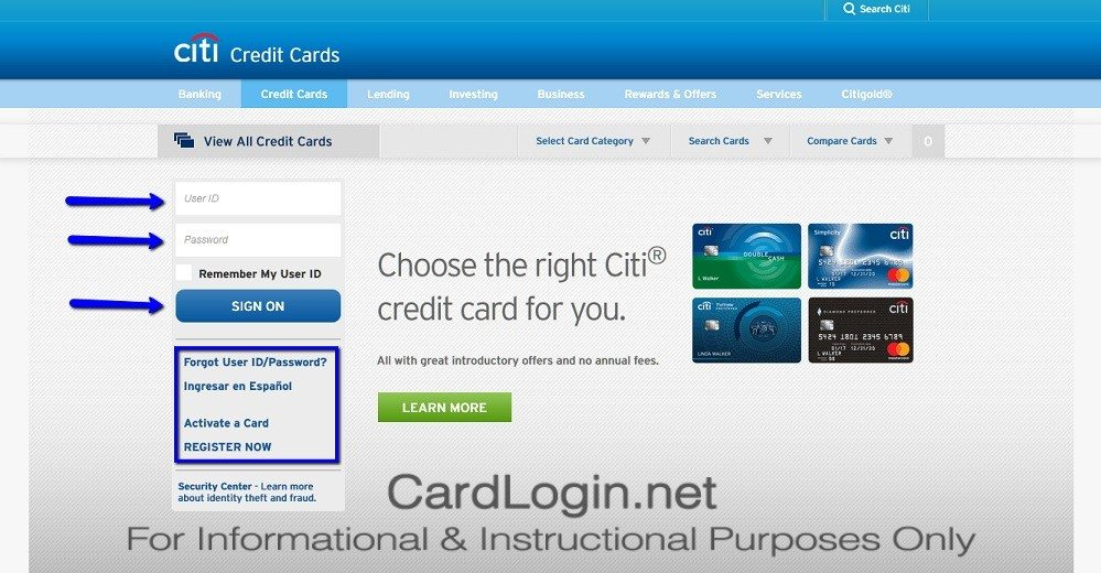 Citi® Diamond Preferred® Card Login