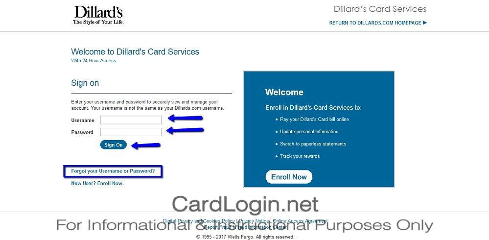 Dillard S American Express Credit Card Login And How To