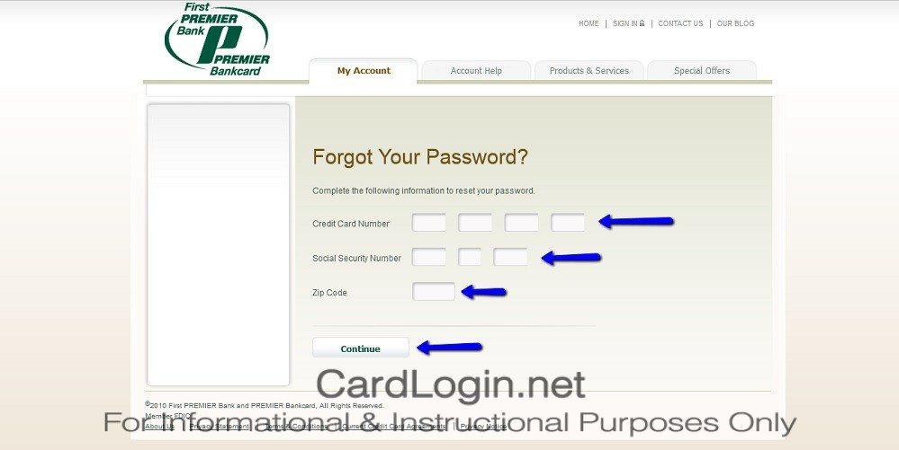 Forgot_Your_First_Premier_Credit_Card_User_ID_Or_Password_Step_2