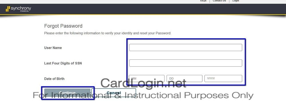 Forgot_Your_PC_Richard_&_Son_Credit_Card_User_ID_Or_Password_Step_2