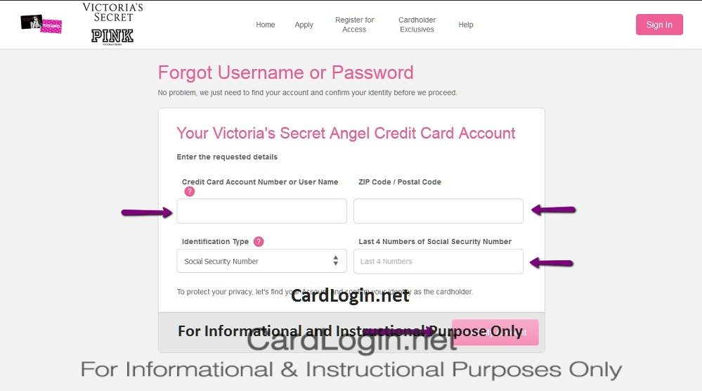 Forgot_your_Victoria's_Secret_Angel_Credit_Card_User_ID_or_Password