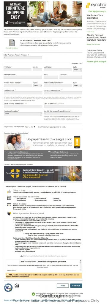 Synchrony Home Design Credit Card Login Best Free Home Design Idea Inspiration