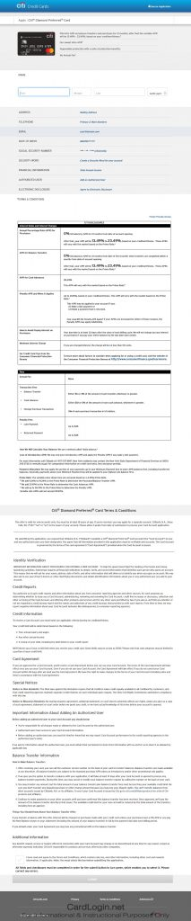 How To Apply For Citi® Diamond Preferred® Card