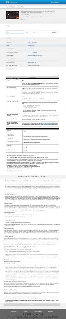 How To Apply For Citi® Diamond Preferred® Card