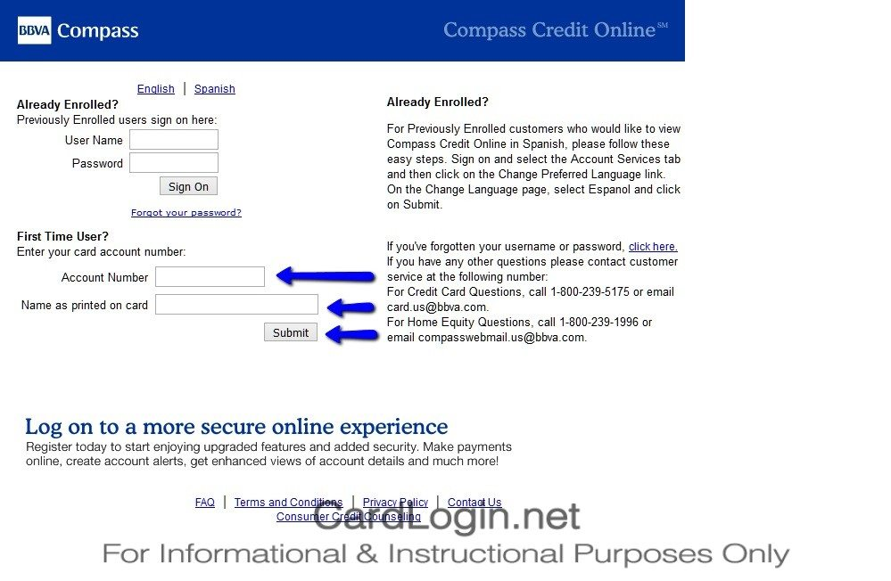 How_To_Activate_BBVA_Compass_Select_Credit_Card