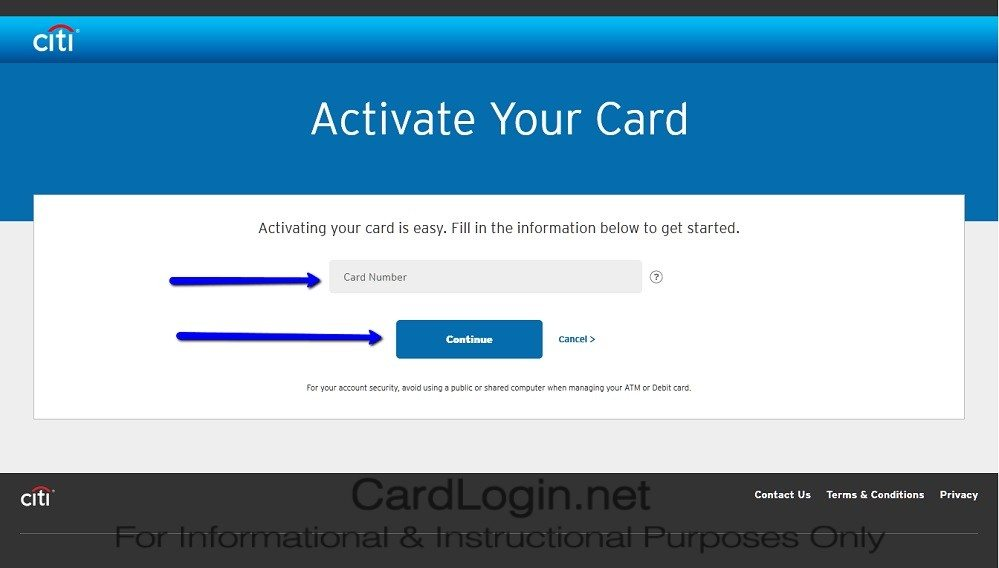 How_To_Activate_Citi ThankYou® Premier Card