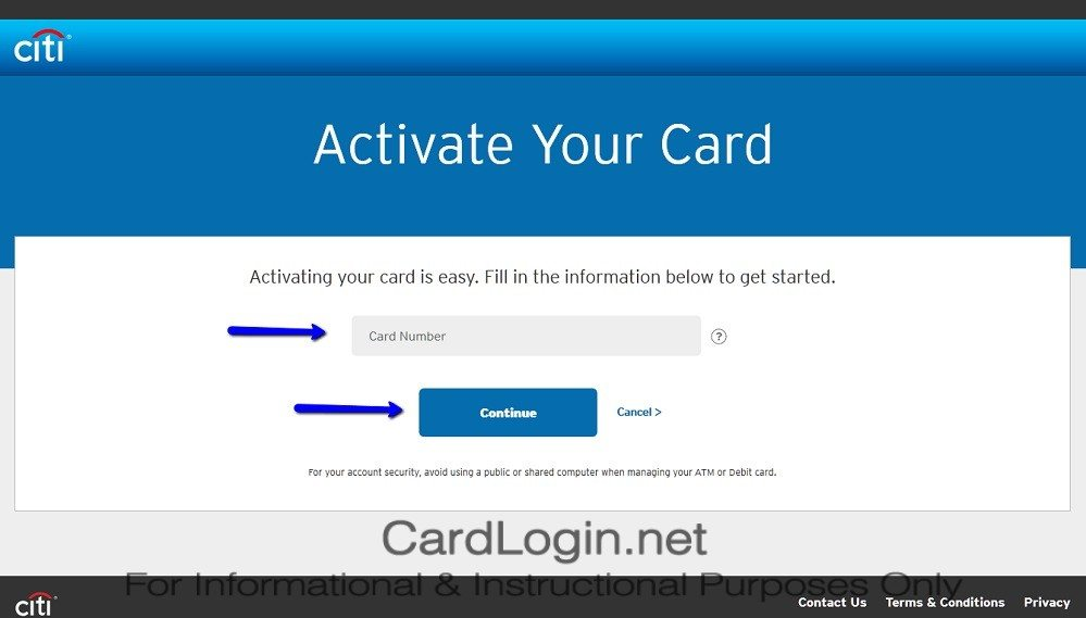 How To Activate Citi® Diamond Preferred® Card