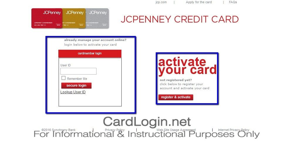 How_To_Activate_JCPenney_Silver_Credit_Card