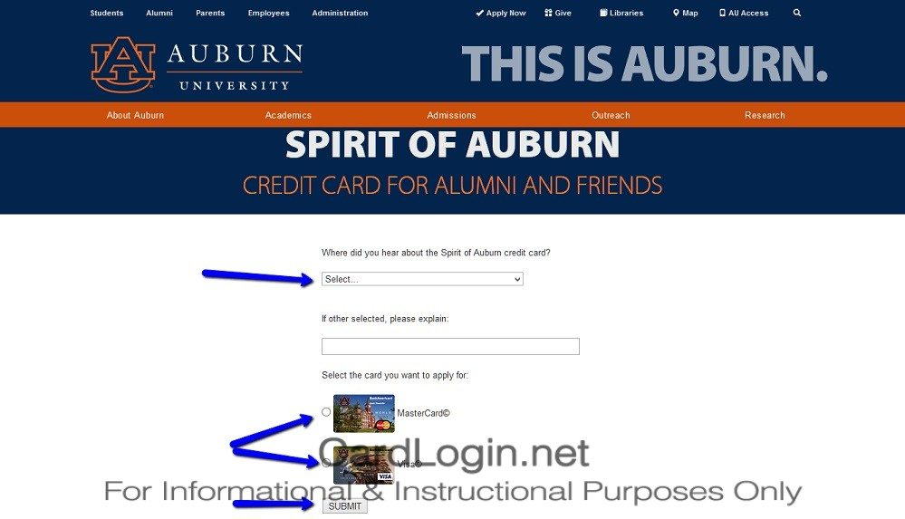 How_To_Apply_For_Auburn_University_BankAmericard_Cash_Rewards_Credit_Card_1