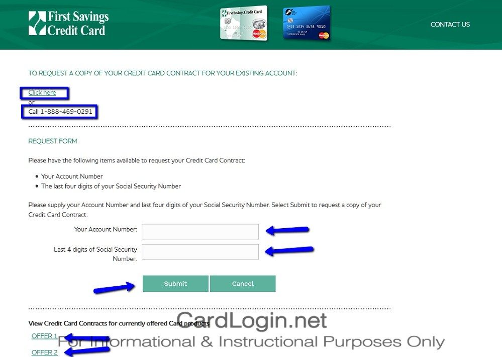 How_To_Apply_For_First_Savings_Credit_Card_Step_1