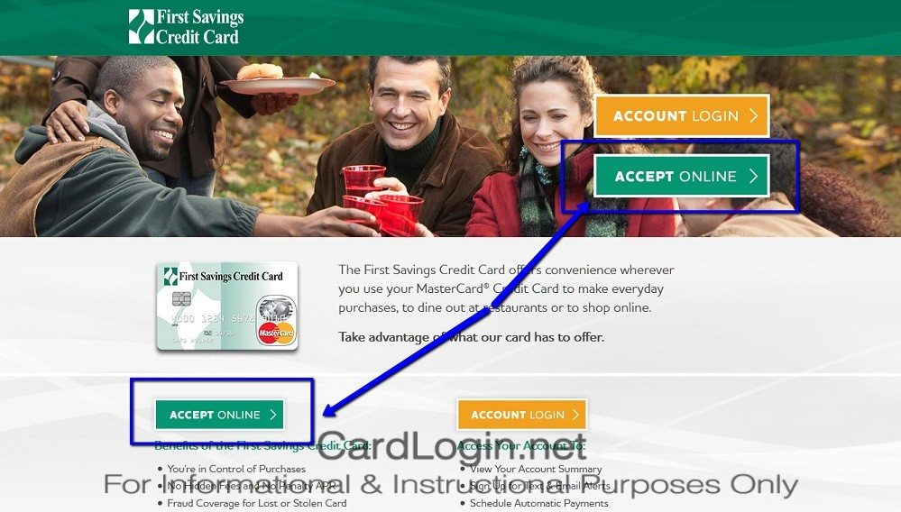 How_To_Apply_For_First_Savings_Credit_Card_Step_2