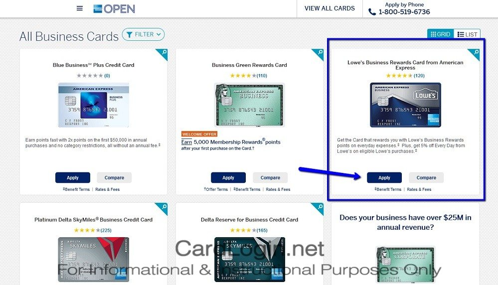 How_To_Apply_For_Lowe's_Business_Rewards_Credit_Card_Step_1