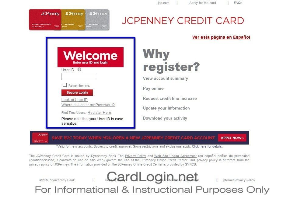JCPenney_Silver_Credit_Card_Login