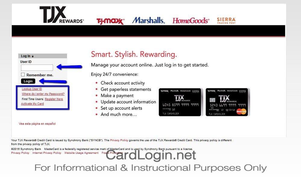 TJX_Rewards®_Credit_Card_Login