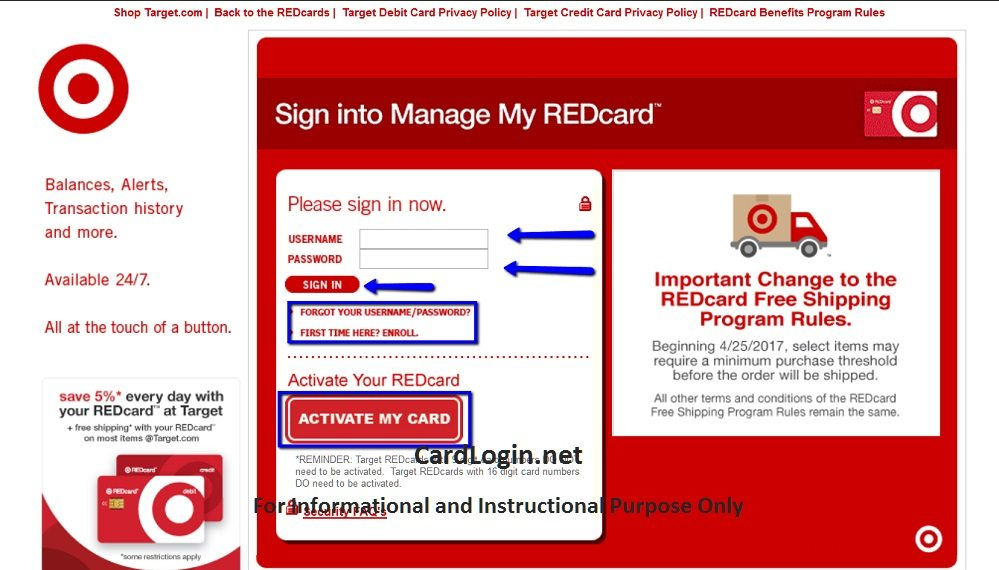 Target_Redcard_Credit_Card_Login