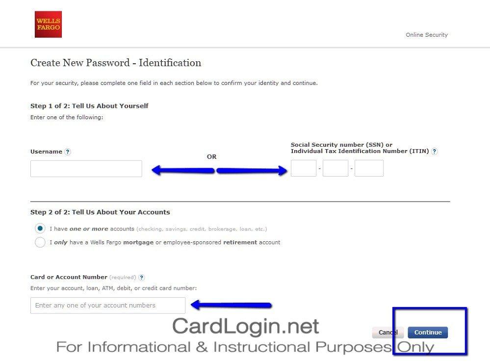 Wells_Fargo_Cash_Wise_Visa®_Card_Create_New_Password