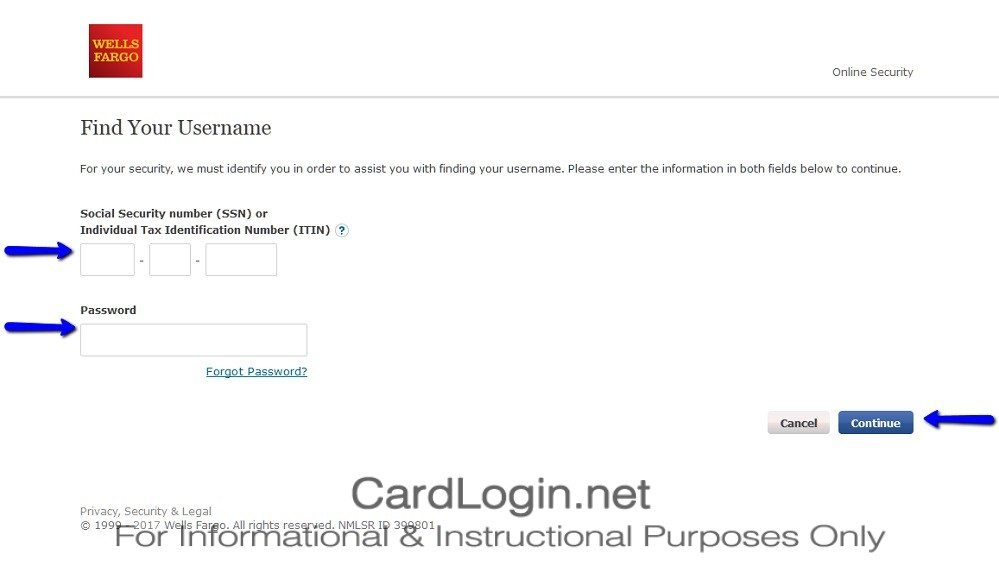 Wells_Fargo_Cash_Wise_Visa®_Card_Find_Username