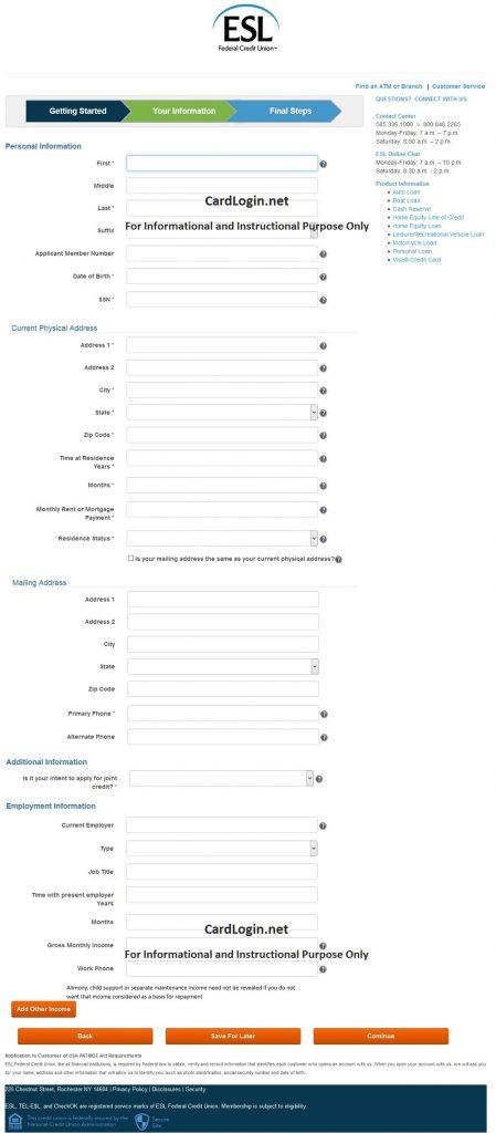 apply_for_ESL_Federal_Credit_Union_Visa_Credit_Card_2